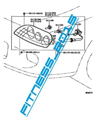 Manual Despiece Catalogo Toyota Supra 1993