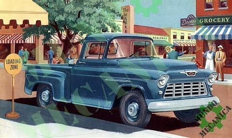 manual despiece chevrolet apache chevy pickup 1955-1959 gm