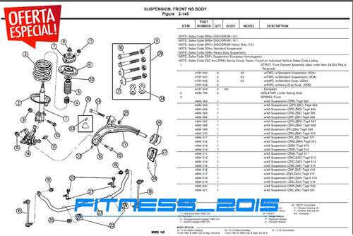 manual despiece jeep grand cherokee zj 1993 - 1998 catalogo