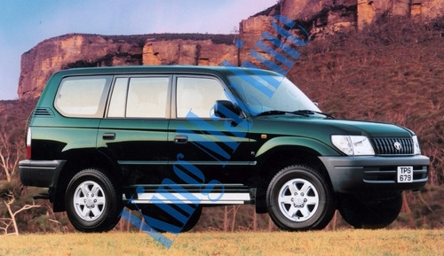 manual despiece toyota land cruiser j90 prado sumo 1997-2008