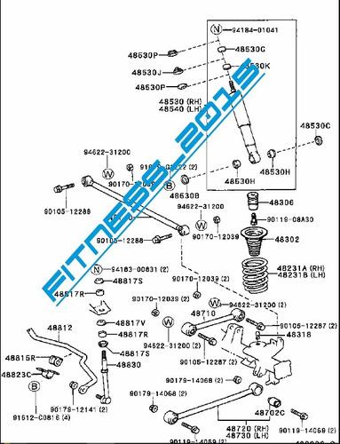 manual despiece toyota land cruiser prado meru catalogo pdf