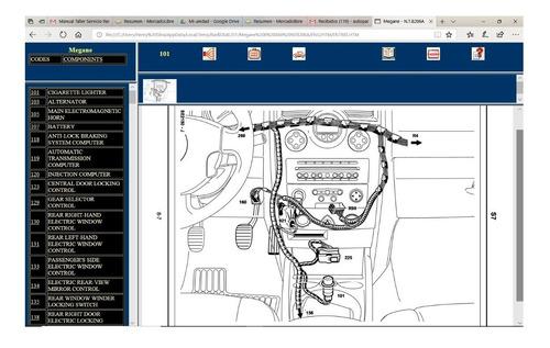 manual diagramas electrico renault megane 2 full interactivo
