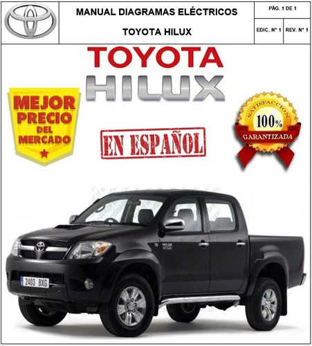 Manual Diagramas Electricos Toyota Hilux 04