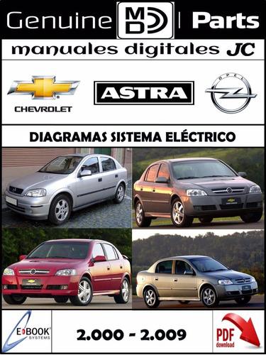 Manual Diagramas Sistema Electrico Chevrolet Astra 00