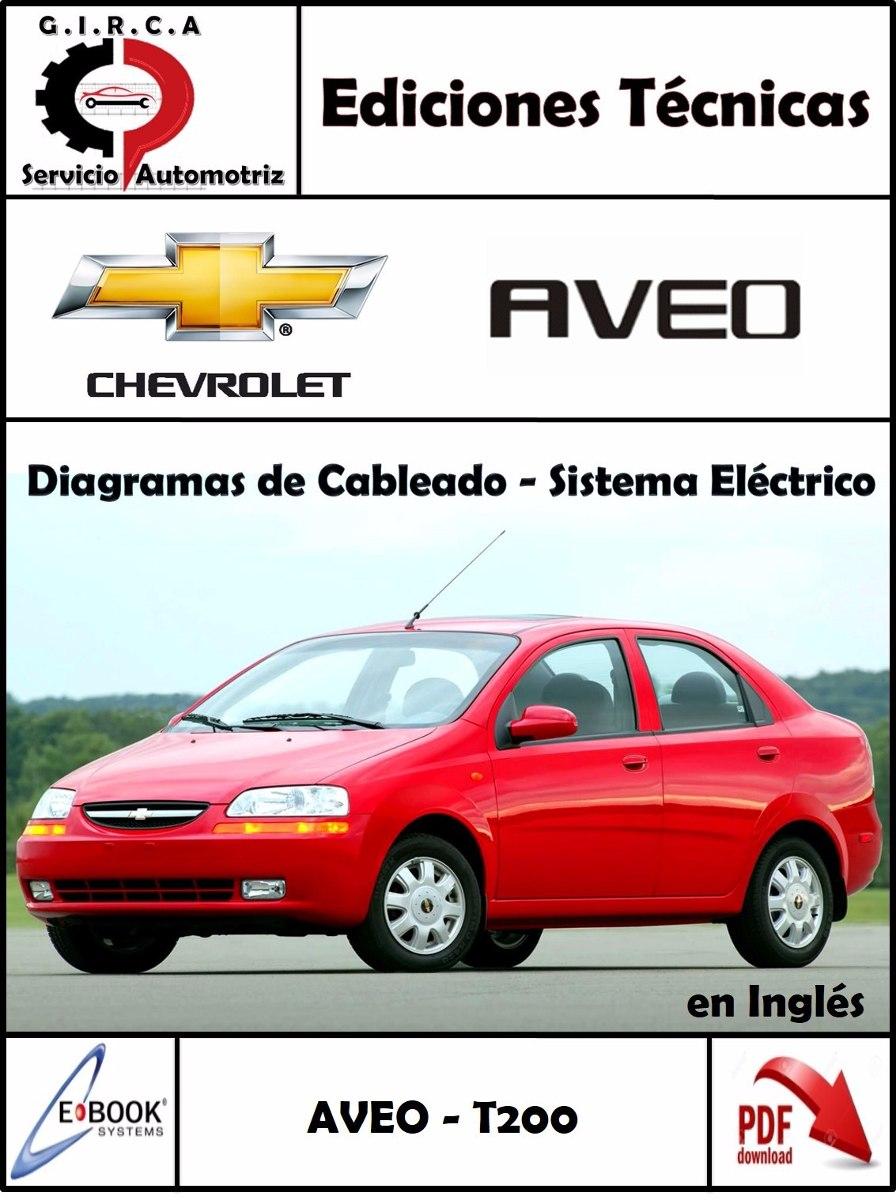 Manual Diagramas Sistema El U00e9ctrico Chevrolet Aveo Original