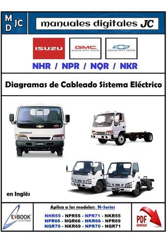Manual Diagramas Sistema Electrico Chevrolet Npr Nkr Nhr Nqr