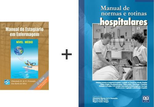 manual do estagiário em enfermagem - nível médio + manual...