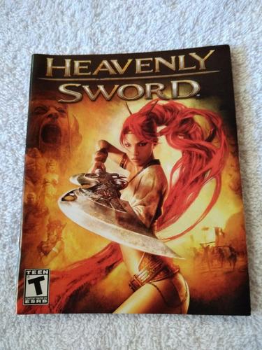 manual do game heavenly sword ps3 **** leia