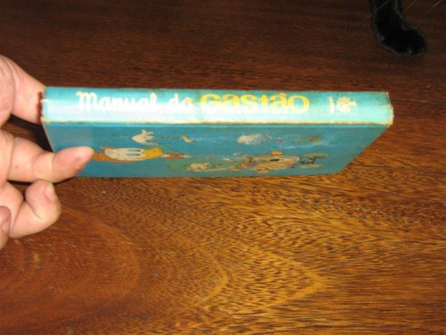 manual do gastão ano:1975 editora abril c/190 páginas