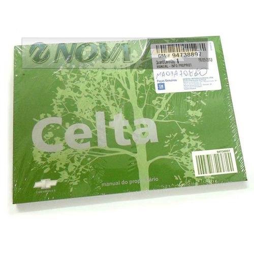 manual do proprietario celta
