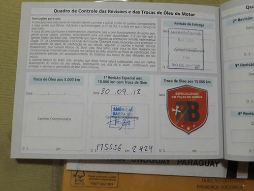 manual do proprietário chevrolet corsa 2012