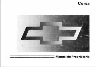 manual do proprietário chevrolet corsa super mpfi 1996/97