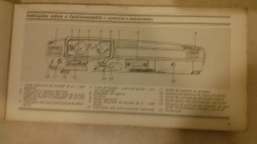 manual do proprietário corcel 2 1.4 ano1978