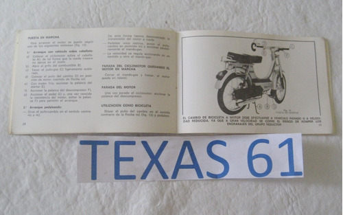 manual do proprietario da moto vespino 1980