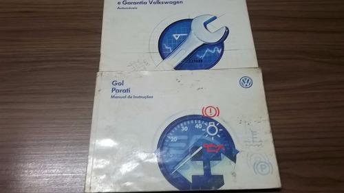 manual do proprietário do gol / parati 1.6