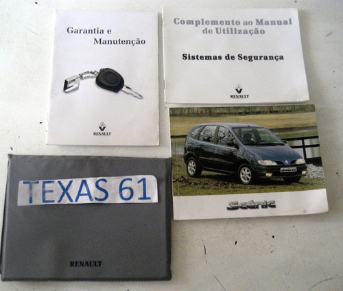 manual do proprietario do renault senic 1999