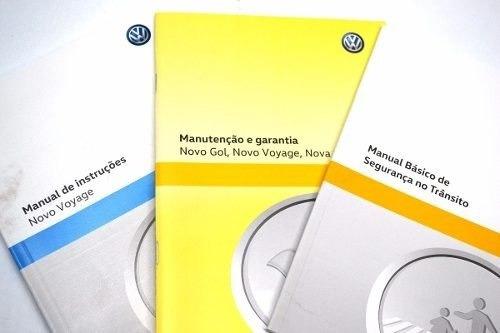 manual do proprietario do voyage original vw - 5u4012766rg
