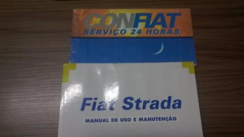 manual do proprietário fiat strada 2000