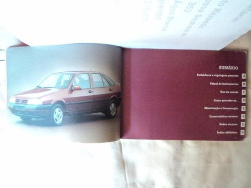 manual do proprietário fiat tempra 1994 ed. nov.1993