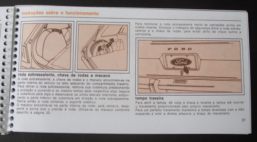 manual do proprietário ford corcel 1975