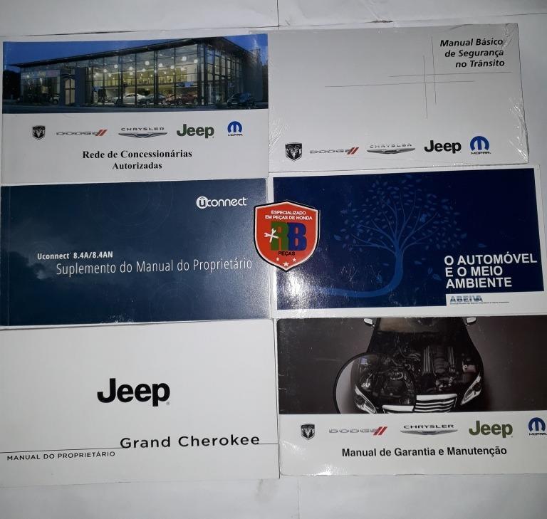 Manual Do Proprietário Jeep Grand Cherokee 2014
