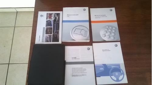 manual do proprietário jetta 2012 original volkswage - usado