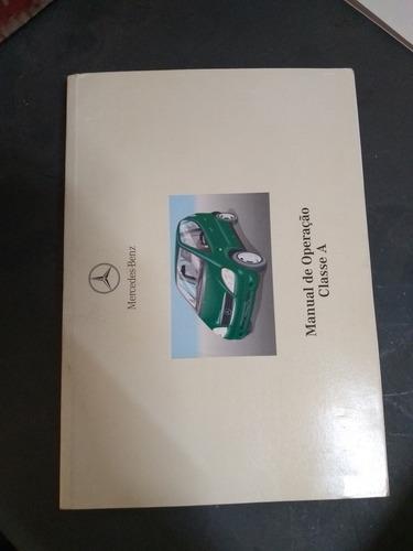 manual do proprietário mercedes benz classe a 190 - 2000