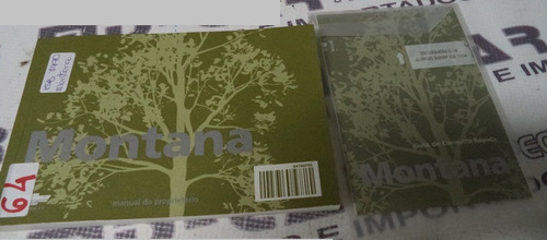 manual do proprietario montana  2011 ref: 42267