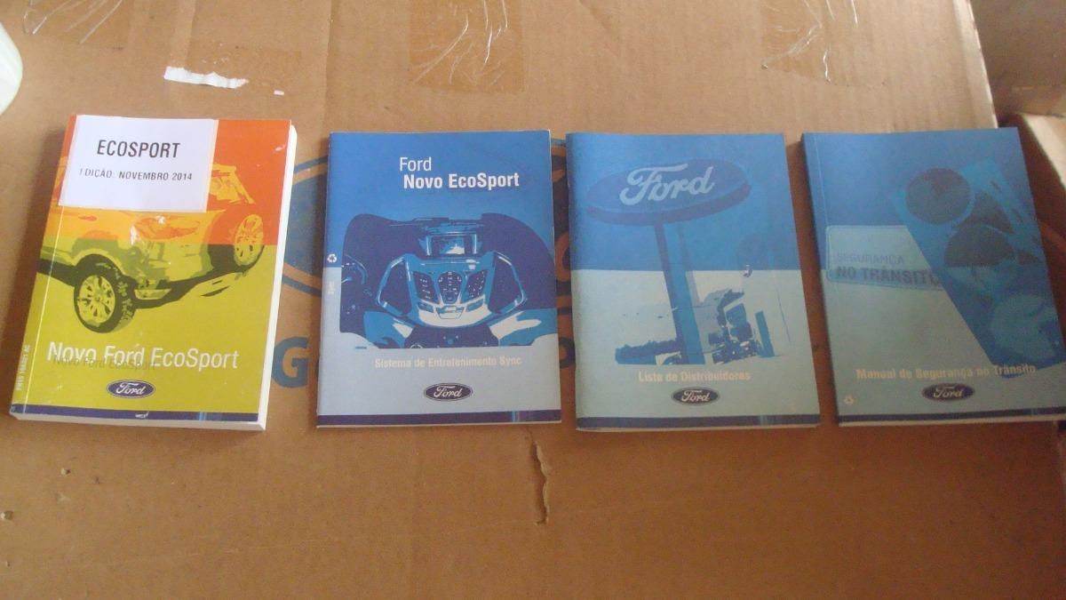 manual do propriet rio novo ford ecosport novo original r 220 00 rh produto mercadolivre com br manual propietario ecosport 2007 manual propietario ecosport 2006