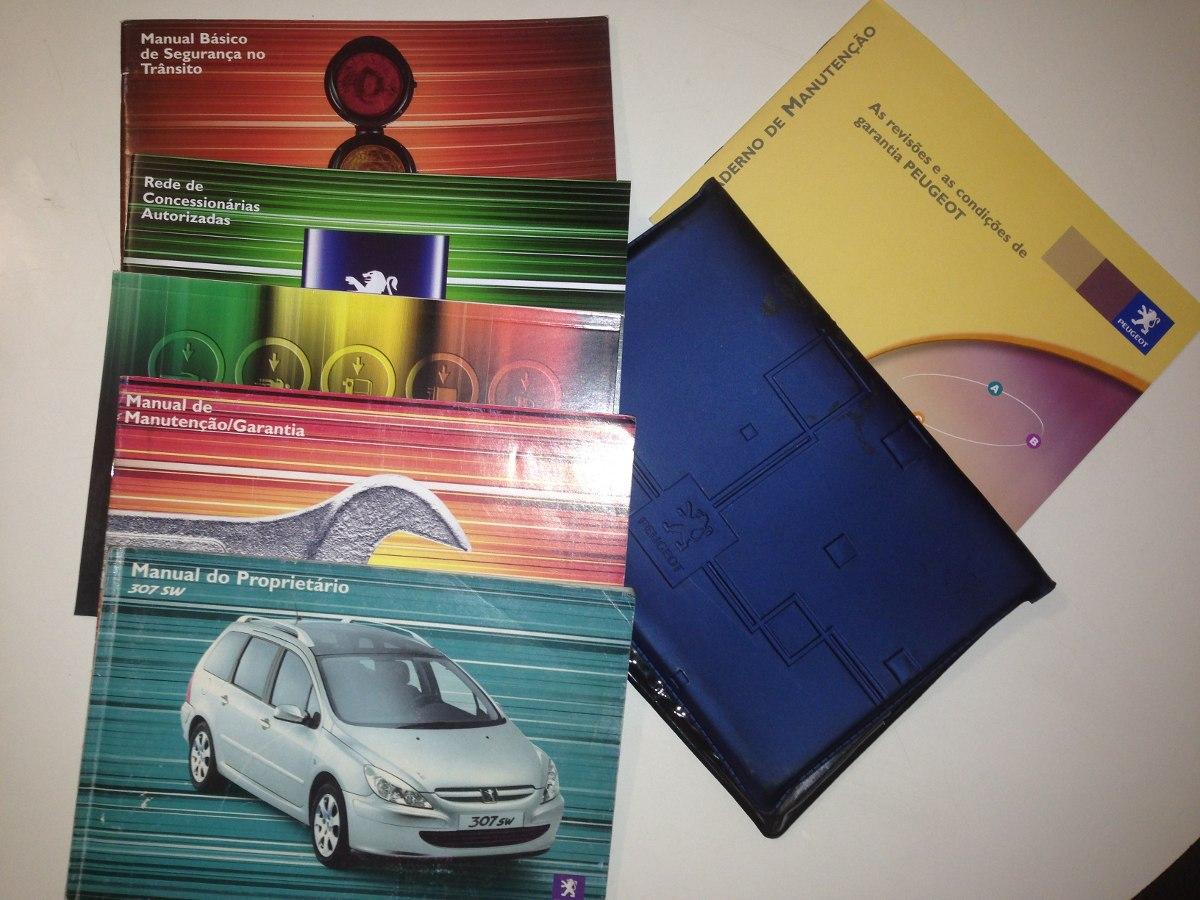 manual do propriet rio original peugeot 307 sw r 180 00 em rh produto mercadolivre com br Peugeot 307 HDI Peugeot 307 SW Problems