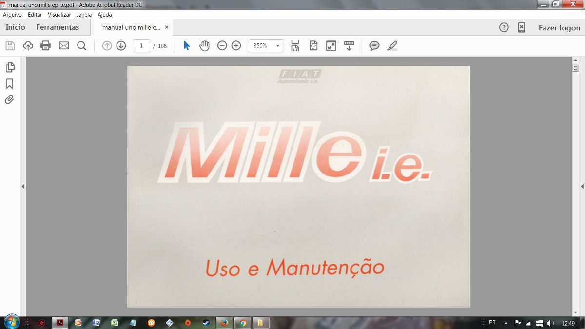 manual do propriet rio pdf fiat uno mille i e 1 0 1 0 ep r 14 rh produto mercadolivre com br manual do proprietario fiat uno mille fire 2002 pdf manual do proprietario fiat uno mille fire 2002 pdf