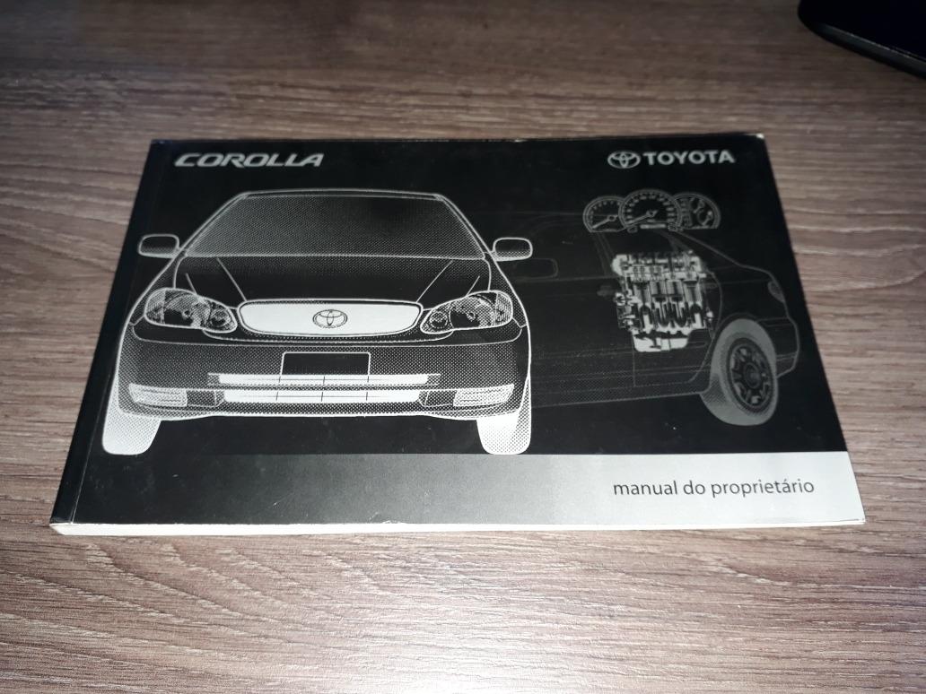 manual do proprietário toyota corolla 2003 a 2008 original. Carregando zoom.