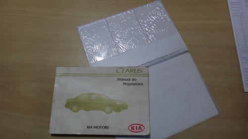 manual do propritário kia clarus original