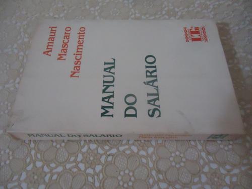 manual do salário, amauri mascaro nascimento