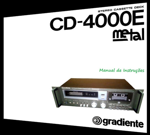 manual do tape deck gradiente cd-4000e (cópia colorida)