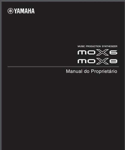 manual do teclado yamaha mox6 e mox8 em português.
