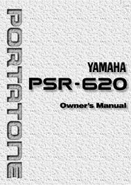 manual do teclado yamaha psr-620 em portugues