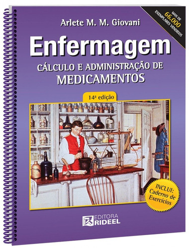 manual do técnico e auxiliar de enf + cálculo + terminologia