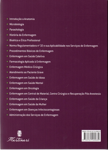 manual do técnico e auxiliar de enfermagem 2 ed. 2017 novo