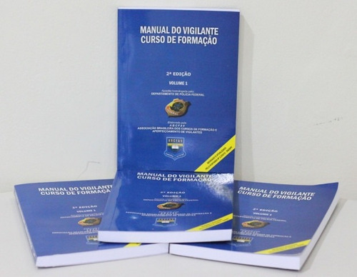 manual do vigilante - 2ª edição - com novas matérias
