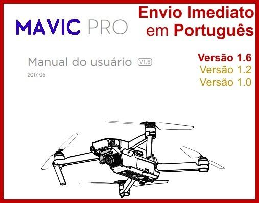 Manual Drone Dji Mavic Pro Em Português V1 6