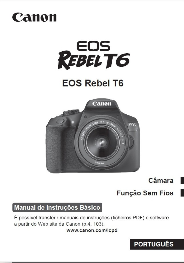 manual dvd c mera canon rebel eos 350d t2 t3 t3i t5 t6 6d r 30 rh produto mercadolivre com br manual canon eos 350d em portugues Canon EOS 350D Rebel