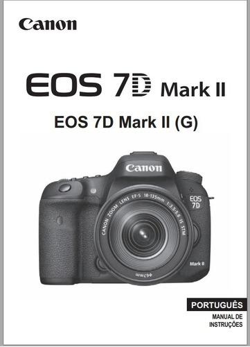 manual em portugu s da c mera digital canos eos 7d mark 2 r 29 99 rh produto mercadolivre com br manual 7d portugues manual canon eos 7d portugues