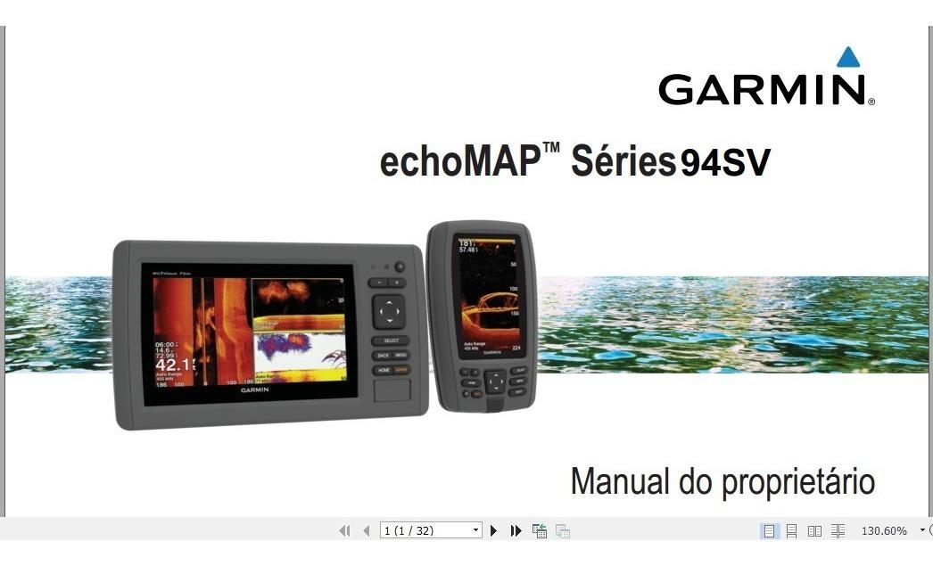 Manual Em Português Do Gps Garmin Echomap 94sv