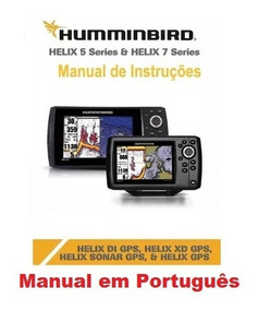 Manual Em Português Do Sonar Gps Humminbird Helix 5 / 7 Di