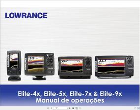 Manual Em Português Do Sonar Lowrance Elite 9x