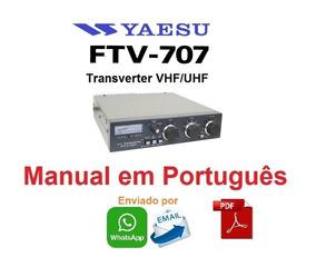 Manual Em Português Do Transverter Yaesu Ftv-707