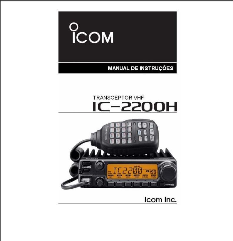 manual em portugu s icom ic 2200h r 29 99 em mercado livre rh produto mercadolivre com br manual icom 2200h portugues gratis Icom 2200