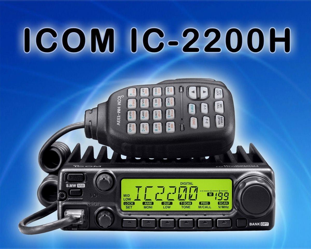 manual em portugu s icom ic 2200h r 25 00 em mercado livre rh produto mercadolivre com br Icom 2720 IC- 2200H Manual