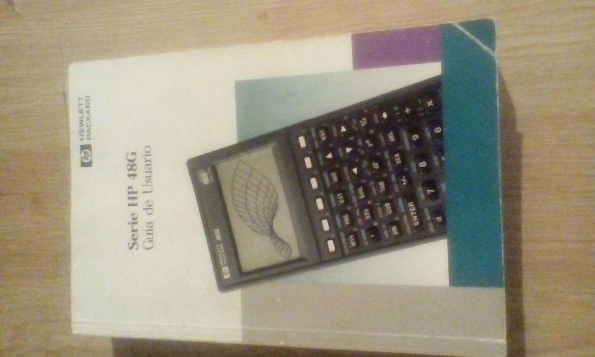 manual en espa ol de la calculadora hp 48g bs 350 000 00 en rh articulo mercadolibre com ve Deteccion De Defectos En Piezas manual de usuario hp 48g en español